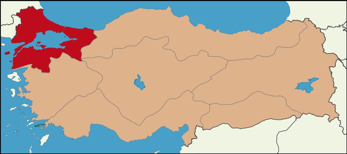 Marmara Bölgesi İlleri Nelerdir?